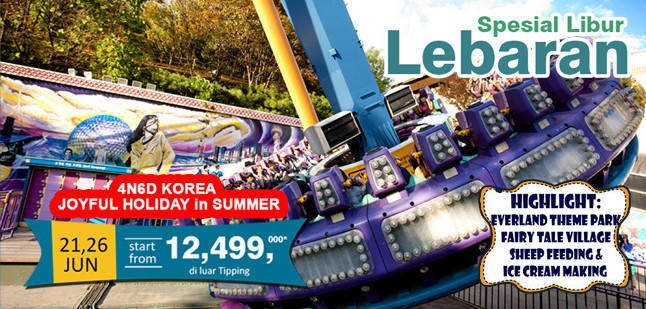 4N6D KOREA JOYFUL HOLIDAY IN SUMMER