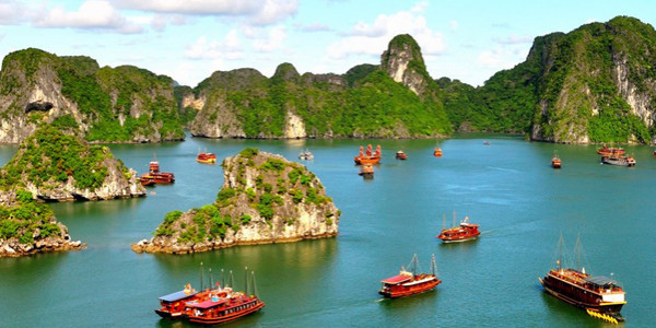 Paket Tour 05 HARI - SUPER SALE VIETNAM + HALONG BAY
