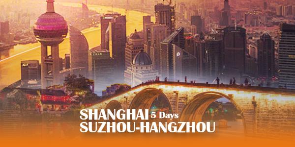 5D SHANGHAI SUZHOU-HANGZHOU